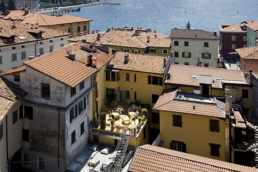 Terrazza Hotel Centrale Torbole
