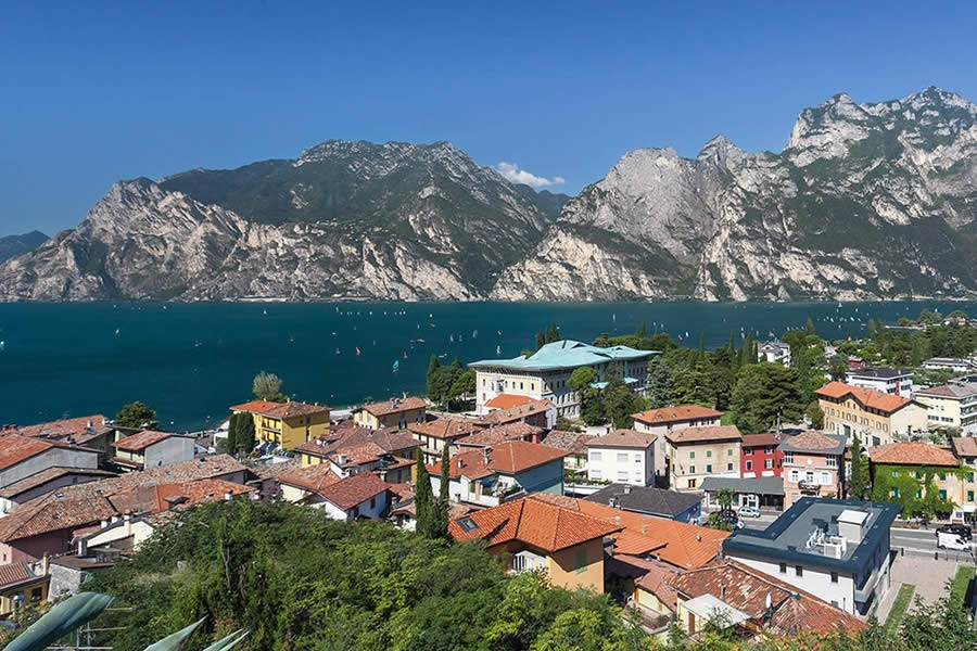 Torbole view Lake Garda