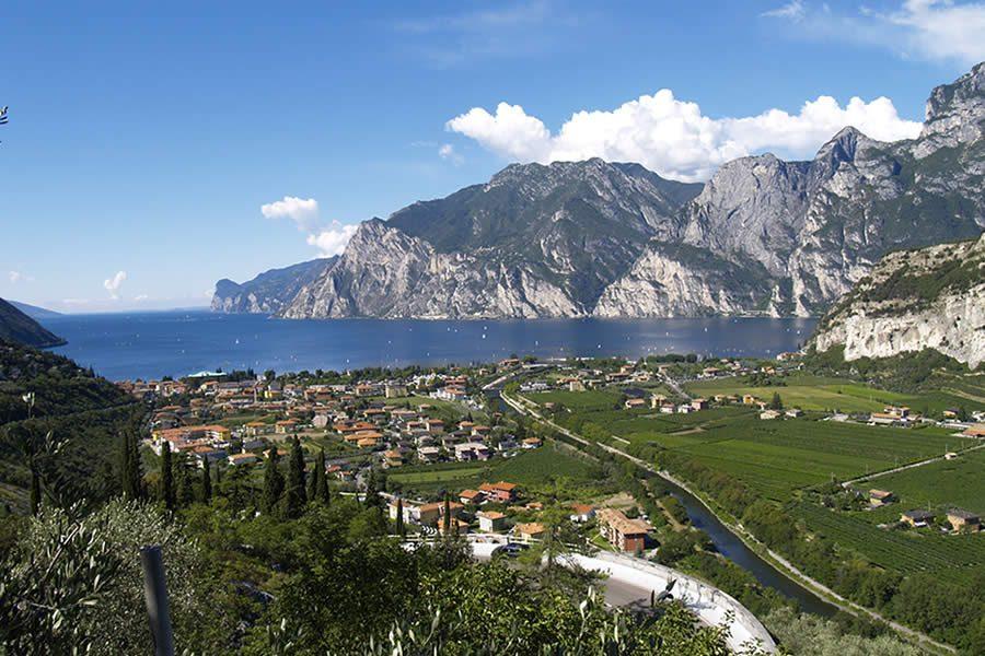 Torbole Panorama Lago di Garda